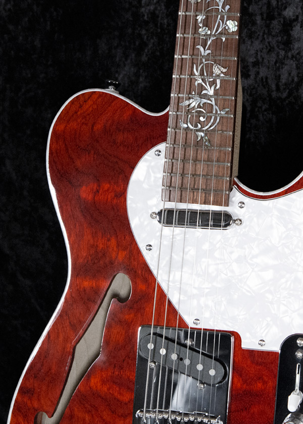 Legend Custom Guitars Red Thinline Telecaster Halifax